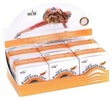 Bild von Kinesiologie Tape *Nasara* -> 1 Box à 6 Stk