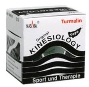 Bild von Kinesiologie Tape *Nasara* Turmalin 5cmx5m - schwarz