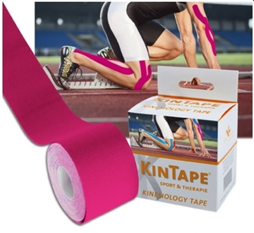 Bild von KK KinTape Kinesiologie Tape 5cmx5m - pink