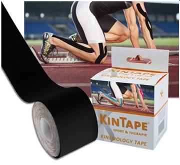 Bild von KK KinTape Kinesiologie Tape 5cmx5m - schwarz