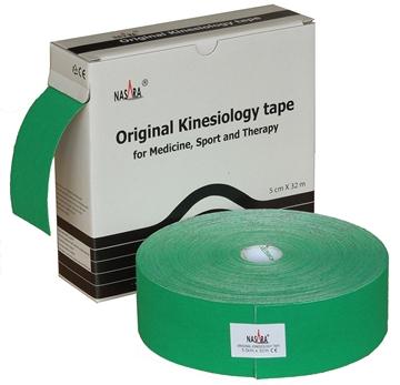Bild von Nasara Kinesiologie Tape XXL - grün