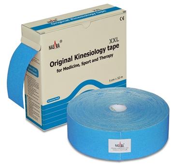 Bild von Nasara Kinesiologie Tape XXL - blau