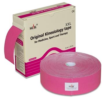 Bild von Nasara Kinesiologie Tape XXL - pink