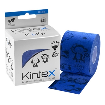 "Bild von Kinesiologie Tape Kintex ""Kids"" 5cm x 5m - blau"