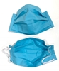 Bild von Mundschutz aus Baumwolle, blau (1 Stk) - L