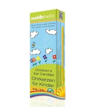 Bild von Naturhelix Kinder-Ohrkerzen Regenbogen
