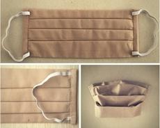 Bild von Mundschutz aus Baumwolle XS